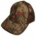 Deer Mossy Oak Country with Brown Mesh Cap