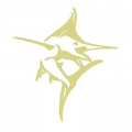 CSS Marlin Gold Decal