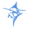 CSS Marlin Blue Decal