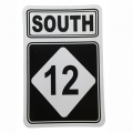 CSS Hwy 12 South Large Decal