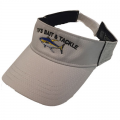 Yellowfin Tuna Natural/Black Trim Visor