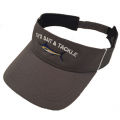 Marlin Charcoal/White Trim Visor