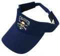 Calcutta Royal Blue Twill Visor