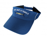 Marlin Visor - Royal Blue w/ White Trim