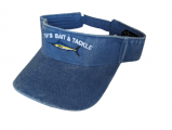 Youth Marlin Visor - Cornflower Blue