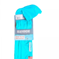 Hook & Tackle Solid Neck Gaiter - Turquoise