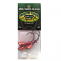Double Barbed Jig Heads 1/4 oz